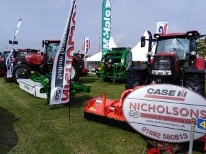 royal norfolk show, norfolk farmers, farming, case ih, jcb, pottinger, tym tractors, tractors, trailers, balers, stalham, stalham engineering