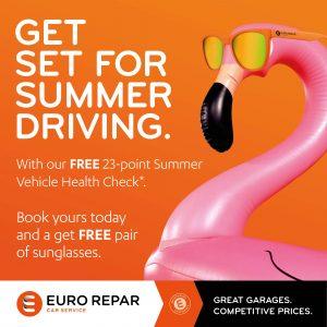 eurorepar, summer check, garage services, norfolk, stalham, local garage, good garage scheme